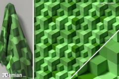 3Demian_3D_SL_BLK_pattern204_theGreen